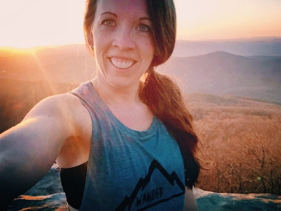 Wander Shirt | Wanderer Shirt | Womens Muscle Tank | Wanderlust | Mountains | Roadtrip Shirt | Adventure Awaits | Camping | Hiking Shirt