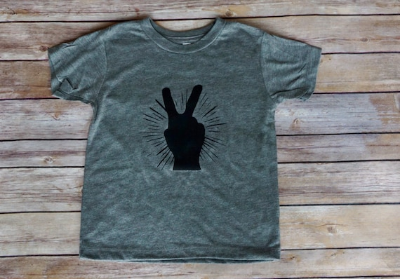 Peace Sign Kids Shirt | Easter Shirt | Easter Basket | Easter Gift | Boho Kids | Kids Clothing | Spring Shirt | Summer Shirt | Easter Kids