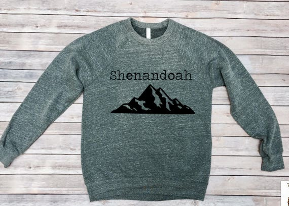 Shenandoah Sweatshirt   National Parks Shirt   Hiking   Camping   Womens Sweatshirt   Mens Sweatshirt   Roadtrip Shirt   Adventure   Explore