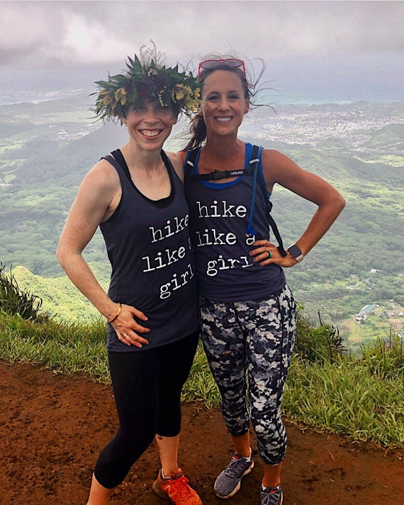 Hike Like A Girl   Hiking Shirt   Hiking Tank   Womens Tank   Womens Shirt   Adventure   Explore   Outdoors   Womens Clothing   Hiker Shirt