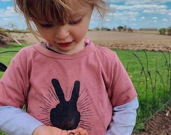 Peace Sign Kids Shirt | Peace Sign Shirt | Kids Tee | Baby Toddler Kid | Toddler Shirt | Hipster Kid Shirt | Cool Kids Shirt | Boho Kids Tee