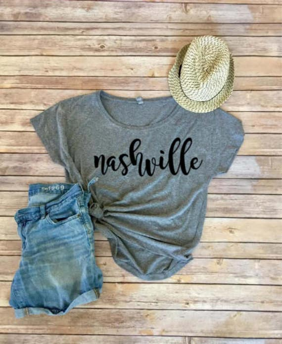 Nashville Shirt | Nashville Tee | Home Shirt | Womens Clothing | Womens Shirt | Bachelorette Party Shirt | Girls Trip Shirt | Roadtrip Shirt