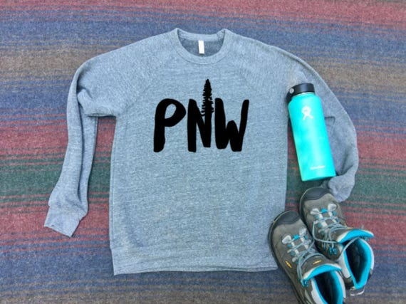 PNW Sweatshirt | Christmas Gift | Unisex Sweatshirt | Christmas Gift for Her | Christmas Gift for Him | Couples Christmas Gift | Christmas
