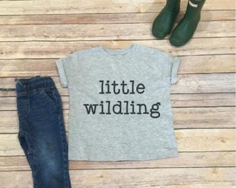 kids shirt- wildling shirt- bohemian kids clothing- little wildling shirt- wild child shirt- kids clothing- clothing for kids- wild shirt