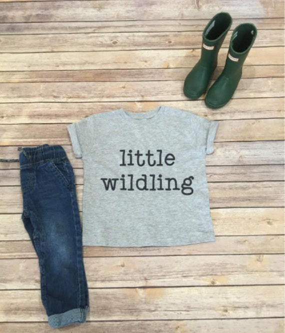Little Wildling Shirt | Easter Shirt | Easter Basket | Easter Gift | Kids Shirt | Wild Child | Kids Clothing | Wildling | Wild Shirt