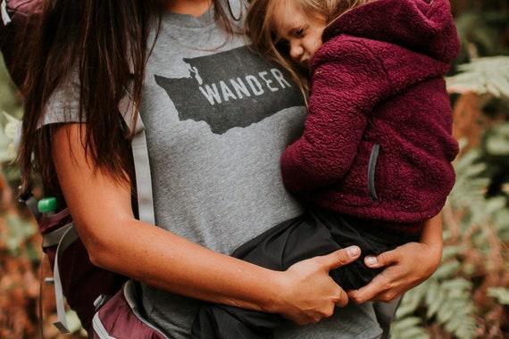 Wander Shirt | State | Home Shirt | Home State | Unisex Clothing | Womens Shirt | Mens Shirt | Hiking Shirt | Camping | Roadtrip |