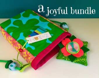 A Joyful Bundle with a Crossbody Bag, a Cheery Gift, Lightweight and Colorful