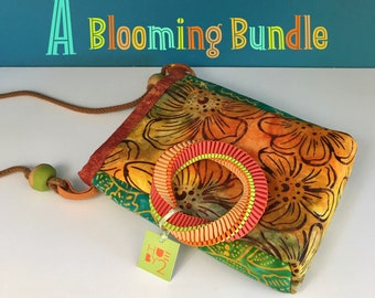 A Blooming Bundle with a Crossbody Bag, a Cheery Gift, Lightweight and Colorful