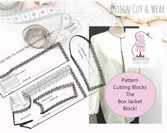 Femmes Pantalon Block-Basic Modèle Coupe Bloc-Idéal Pour Modèle Cutters