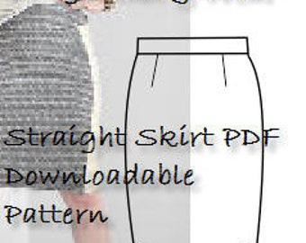 A Size 12 Skirt Pattern-Great Sewing Project- Full Pattern & Detailed, Illustrated  Sewing Guide- Use Today! Sloper