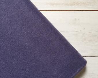 Felt - wool blend - cut sheets or meterage - purple