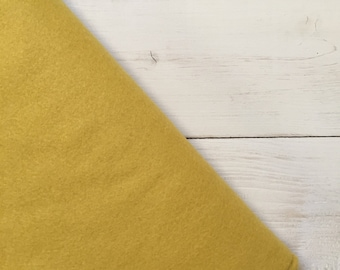 Felt - wool blend - cut sheets or meterage - yellow