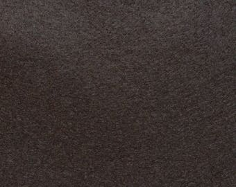 Felt - wool blend - cut sheets or meterage - brown