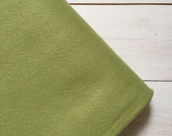 Felt - wool blend - cut sheets or meterage - green