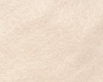 Felt - wool blend - cut sheets or meterage - cream