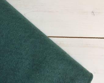 Felt - wool blend - cut sheets or meterage - blue green