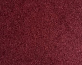 Felt - wool blend - cut sheets or meterage - Victorian Rose