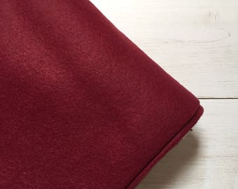Felt - wool blend - cut sheets or meterage - red