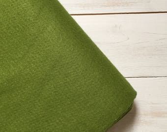 Felt - wool blend - cut sheets or meterage - green