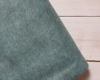 Felt - wool blend - cut sheets or meterage - grey