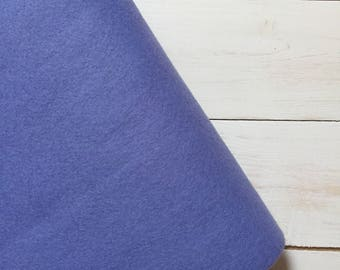 Felt - wool blend - cut sheets or meterage - blue