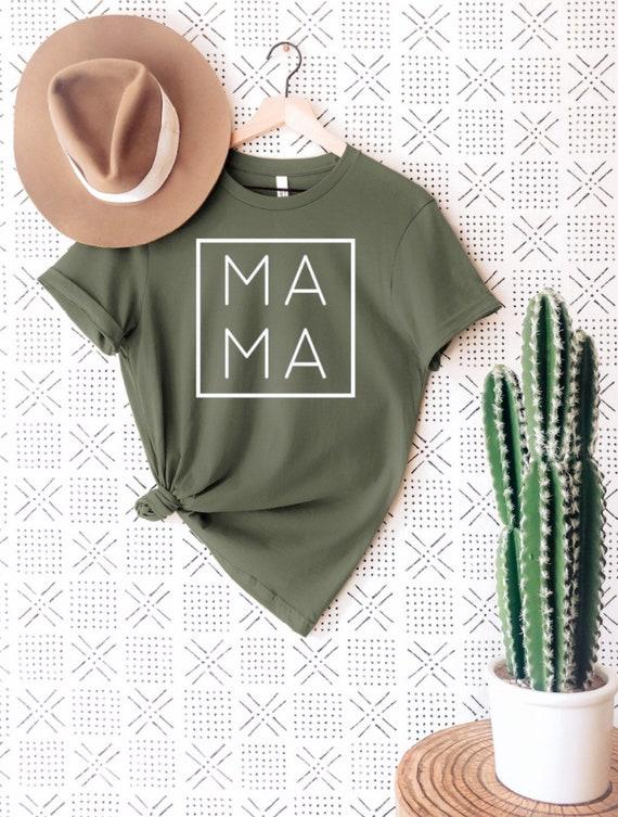 Mama Shirt New Mom Shirt Baby Announcement Shirt New Mom