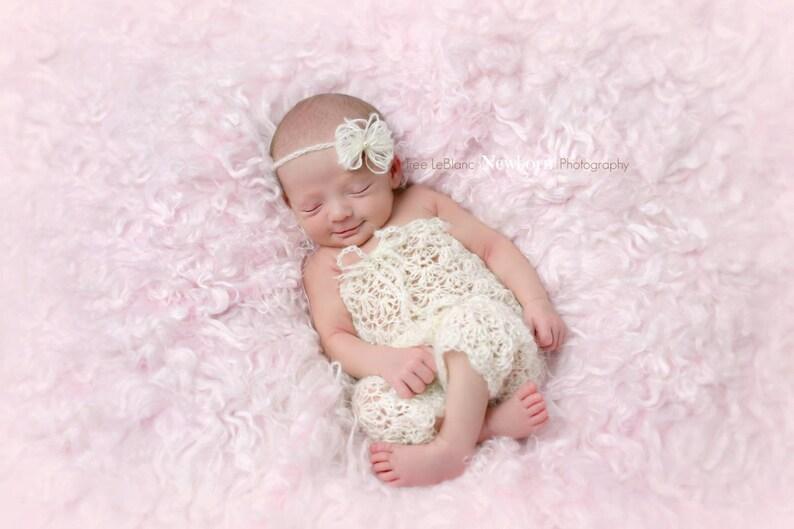 Mutter & Kinder Neugeborene Stirnband Und Spitze Strampler Neugeborene Prop
