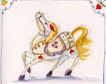 Dutch Pony Card