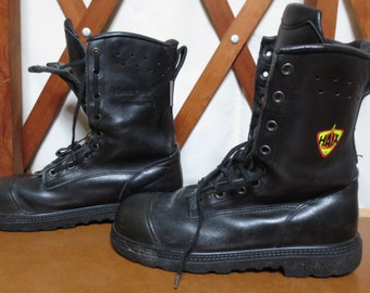 d0ab0bf1733 HAIX Special Fighter US Firefighter Boots Size 9M 9 Manufactured 10 04