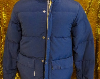 548ff9afa0 Vintage 70 s Trailwise Berkley Down Puffer Ski Jacket Parka Coat Size XS  Small
