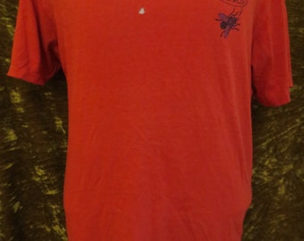 5e4833b4e4 Vintage 1987 Fly Powell Peralta Skateboard T-shirt Bones Brigade Original  Stedman Size Large Red