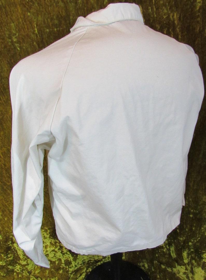 Vintage 60/'s 70/'s Champion Track Jacket Cinder-Ellas Hudson Bay Talon Zipper Zip-Up Running Man Tag Size Large