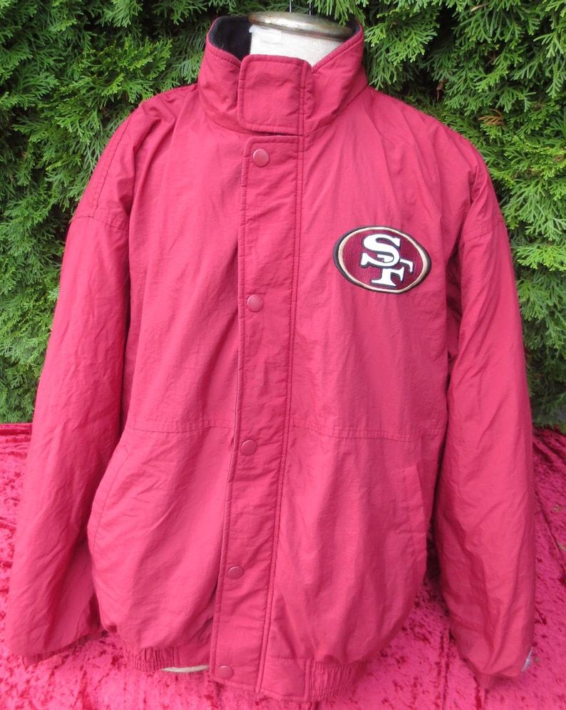 finest selection efe12 781e6 Vintage 90's San Francisco 49ers Starter Winter Jacket NFL Size XL