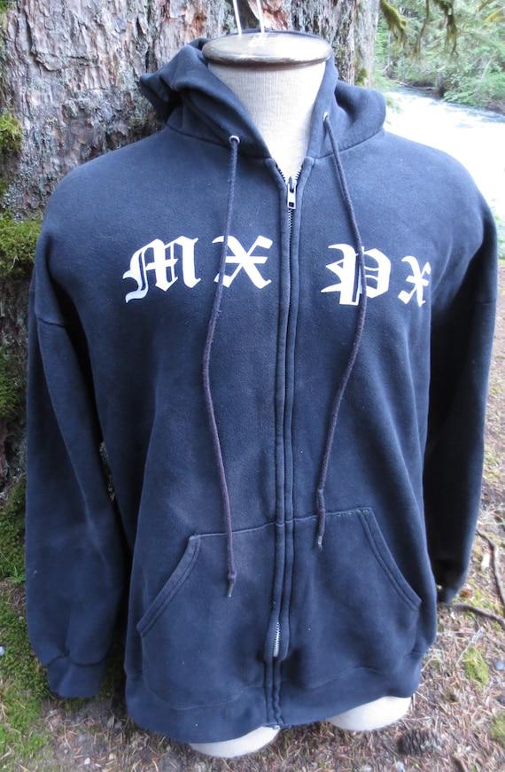 Vintage 90s MXPX Punk Hoodie Distressed Size 2XL XXL XL | Etsy