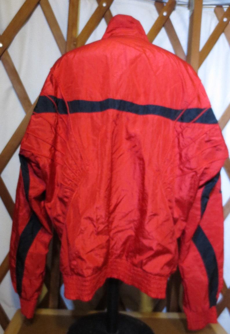 f59e913159e134 Vintage Nike Air Jordan Jumpman Flight Suit Red   Black Fresh