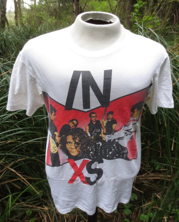 Vintage 1990 90's INXS Disappear Double Sided Tour