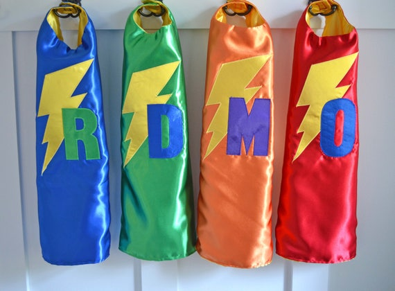 Personalized Superhero Capes for boys and girls/ Customized/ children's/  kids birthday party/superhero party/superhero cape/ Christmas gift