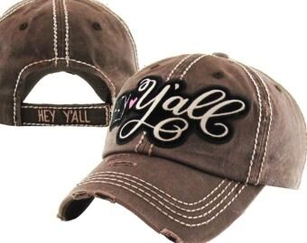 9b0df6b316b Distressed baseball hat