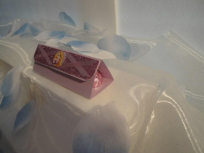 Rapunzel Candy Box Holder set of 10