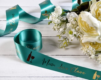 Mother's Day 38mm Personalised Printed Ribbon