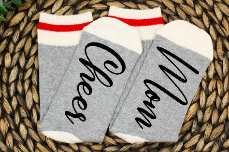 mom socks cheerleader gifts custom socks cheer mom cheer gifts mom socks cute socks mothers day gift ideas gift for mom