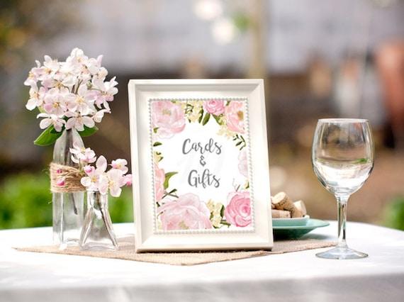 Bridal Shower Table Signs Bridal Shower Decorations Bridal
