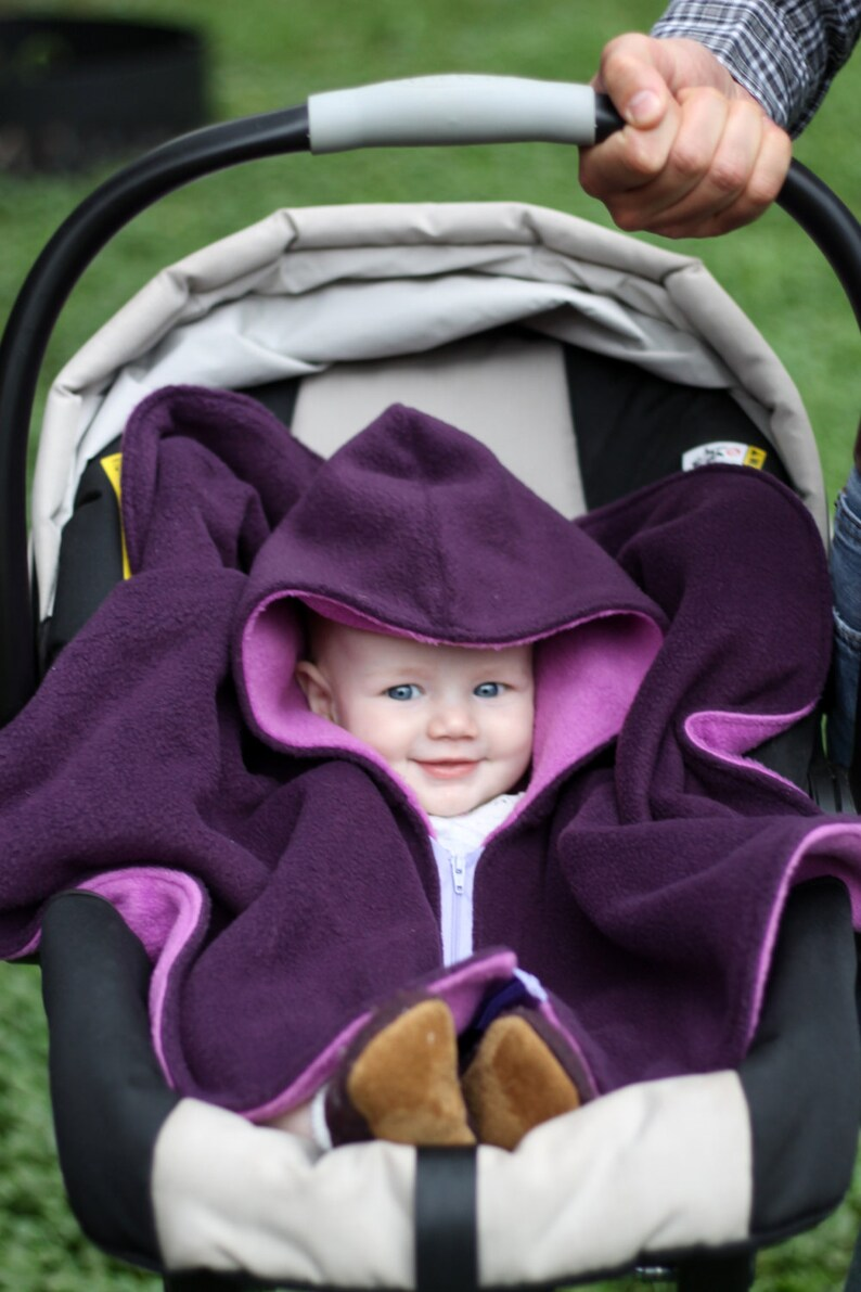 Car Seat Poncho Cover Baby Winter Coat  Kids Winter Jacket  image 0