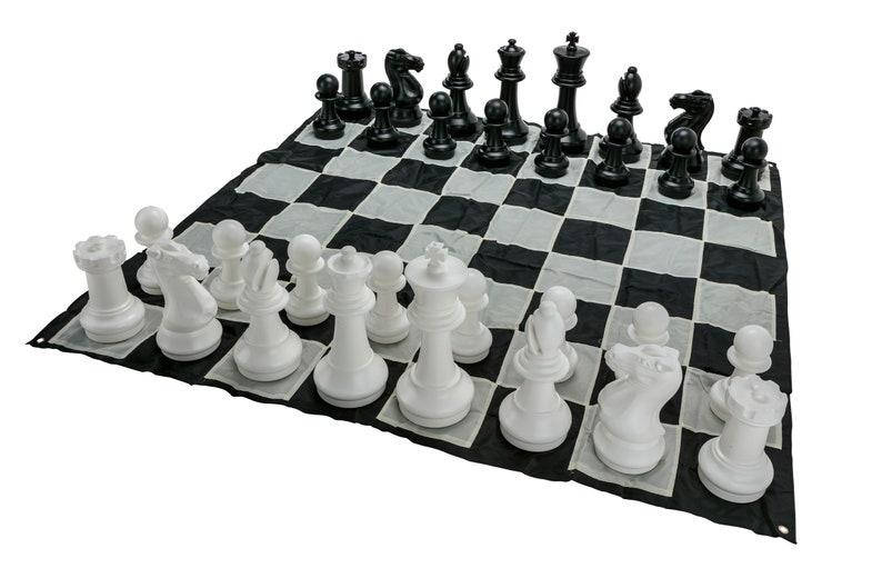 Mega Chess Outdoor Game Set 1 5x1 5m