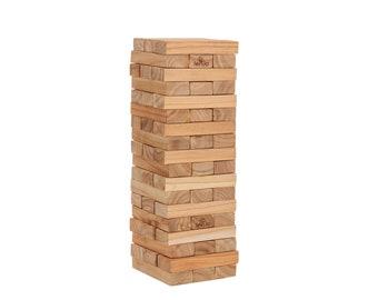 Giant Jenjo 54 Piece Giant Jenga Outdoor Wood Block Game 63cm