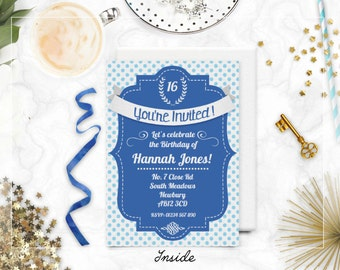 Diy Murder Mystery Invitation Digital Printable Invite Etsy