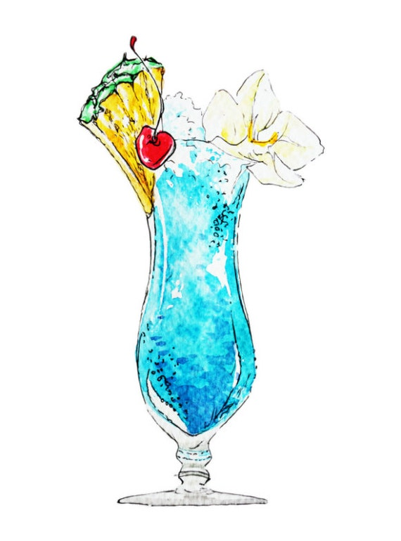 Paint Nite: Summer Cocktail