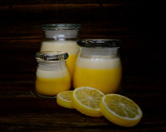 Lemon Verbena Scented Container Candles