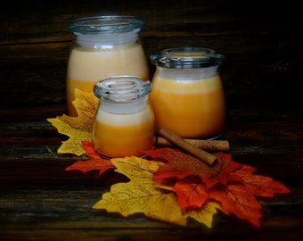Pumpkin Spice Scented Container Candles