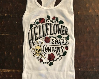 Hellflower soap company tank